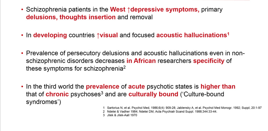 Schizophrenia Definition Psychology >> Schizophrenia Across Cultures Progress In Mind