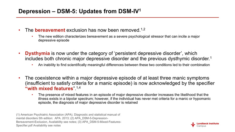 Definition Of Depression According To Dsm 5 - definitoin