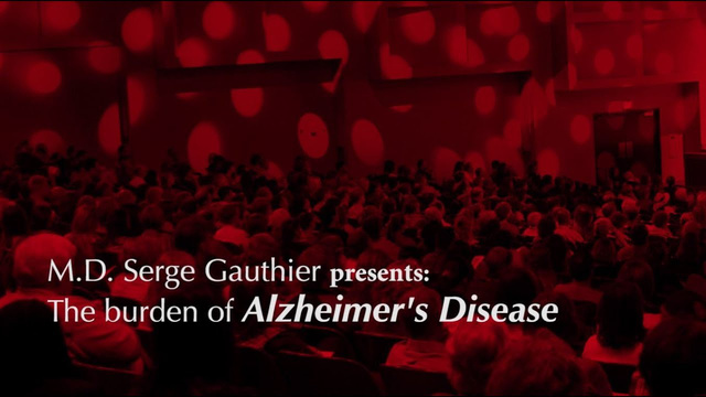 Serge Gauthier presentation - AD Burden of the disease
